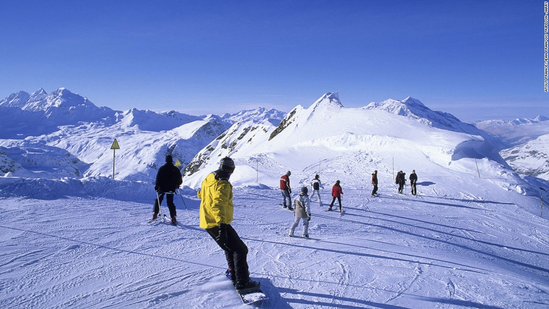 France is blessed with some of Europe's best skiing terrain, with inter-connected resorts spanning the Alps and Pyrenees. Val d'Isere is among the most beautiful. Its slopes tend toward the technical but there are plenty of runs for intermediates and beginners.