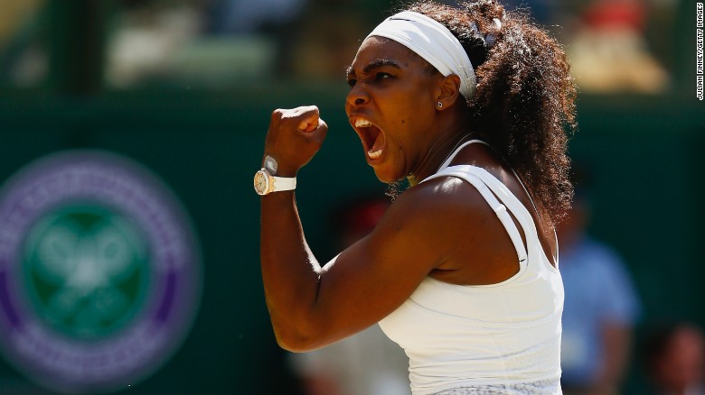 Serena Williams beat Garbine Muguruza in the Wimbledon final to complete the 'Serena Slam' and land a 21st major.