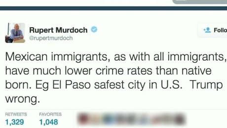 Rupert Murdoch Trump immigration wrong_00001007