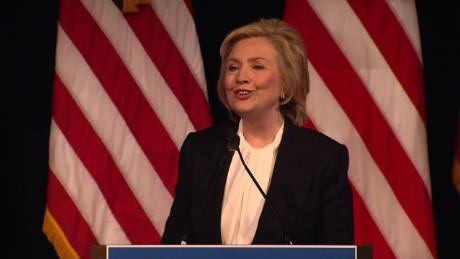Hillary Clinton economy democrats bill clinton new york _00010619.jpg