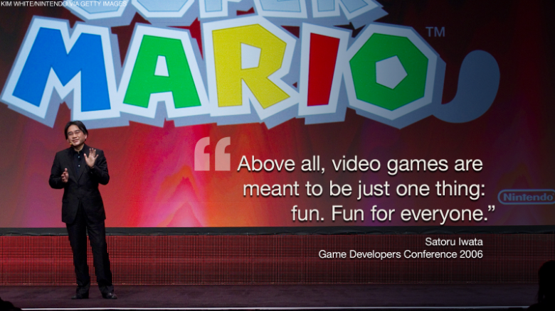 Nintendo's CEO Satoru Iwata played by his own rules
