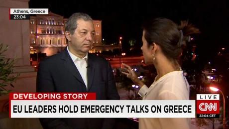 Emergency talks on Greece_00001321