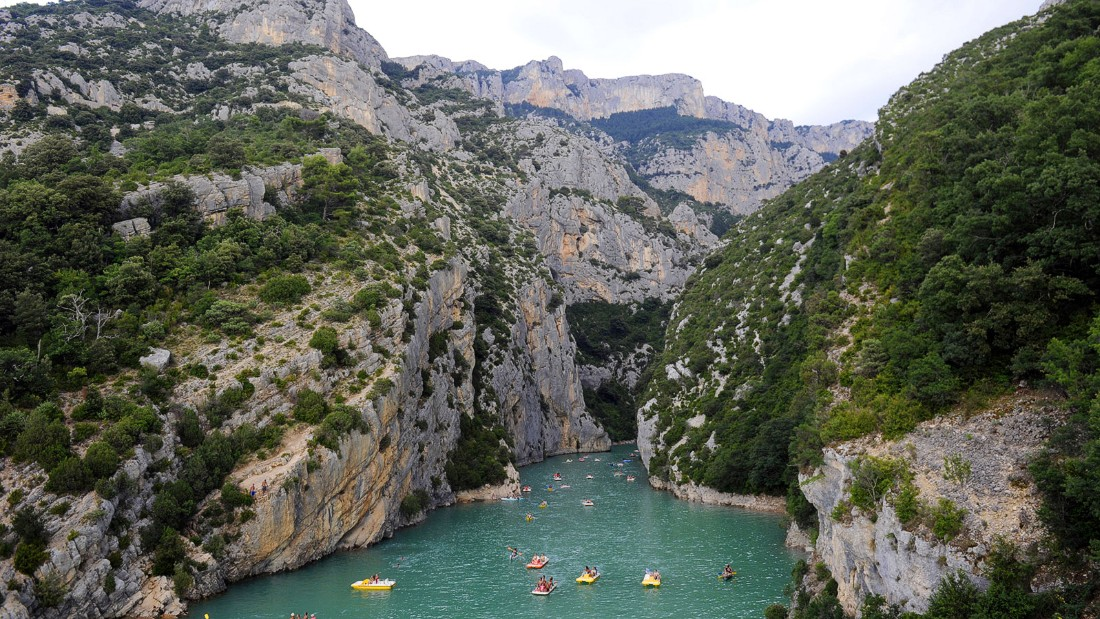 France's answer to the Grand Canyon might be  smaller than its American equivalent, but it's no less beautiful. The Gorge du Verdon is where an Alpine river plunges down a magnificent valley. The limestone cliffs and natural lakes are served by a maze of hiking, cycling and horseback riding trails connecting tiny villages.
