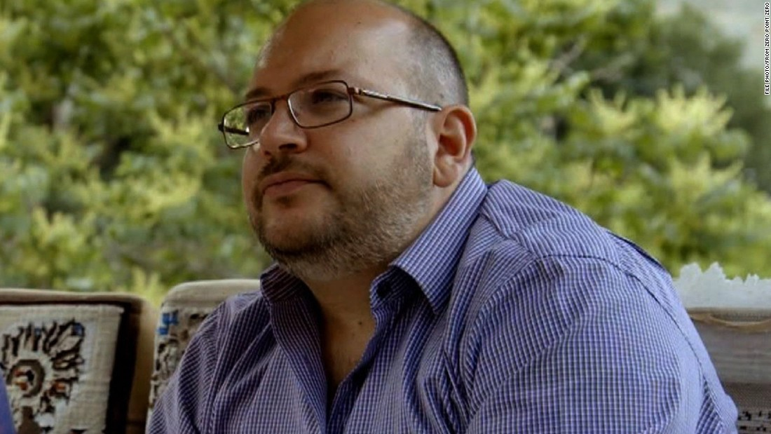 Jason Rezaian, The Washington Post bureau chief in Tehran, Iran; his wife, Yeganeh Salehi; and two freelance journalists were detained on July 22, 2014, according to the newspaper. An Iranian official confirmed to CNN at the time that the group was being held by authorities but did not say what they were charged with.