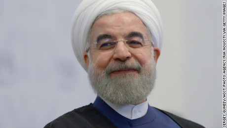 Iran's President Hassan Rouhani tweets the success of women elected to the country's parliament.