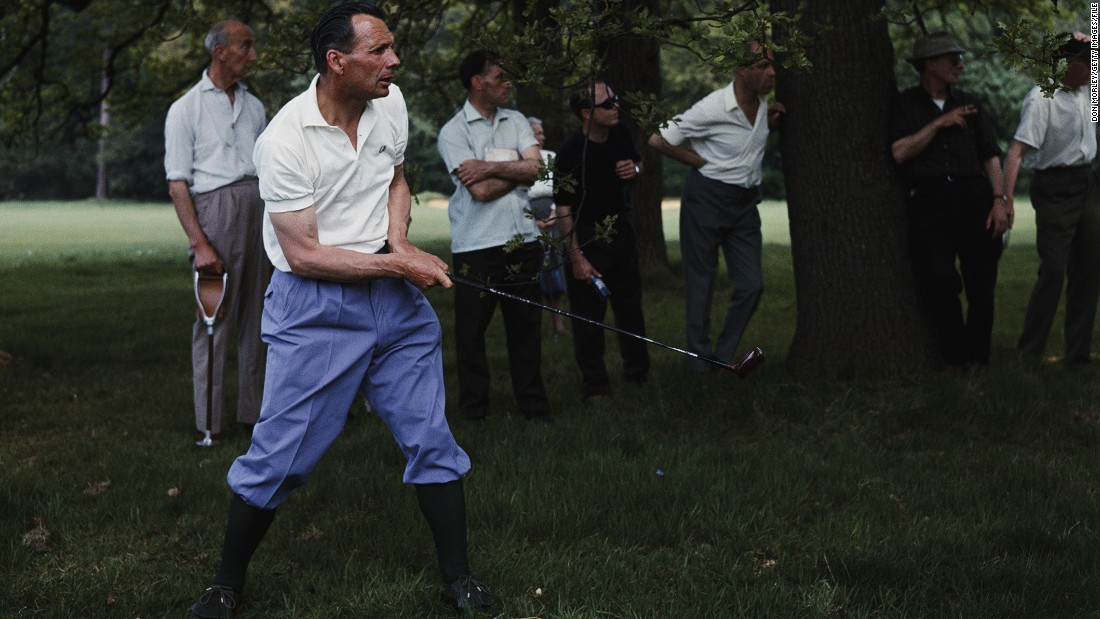 "Max Faulkner, Open champion in 1951, was a colorful presence on the fairways during the 1950s and 1960s.<br /><br />""He loved to wear bright colors and was known for being quite fun on the course. He was somebody who looked to make use of fashion,"" Fleming says."