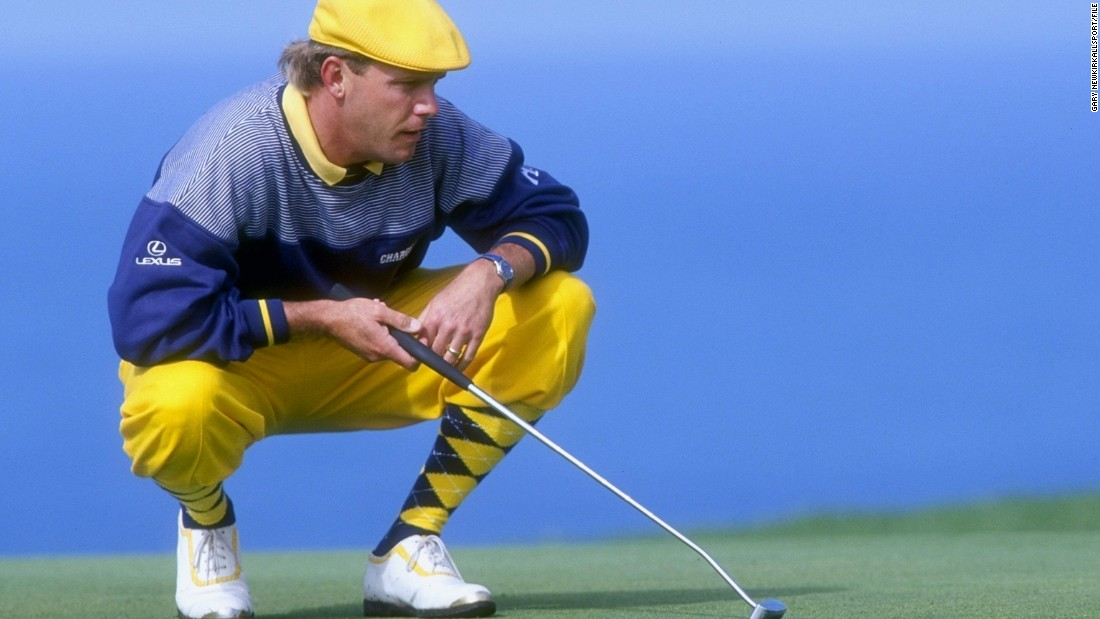 "The late American golfer Payne Stewart revived the fashion for wearing plus fours and plus twos before his tragic death in 1999. <br /><br />""People sometimes turn up at St. Andrews to play the Old Course in plus fours because they want to wear this great outfit. Payne Stewart loved to wear outrageous things,"" Fleming says."