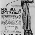 golf fashion ladies clothing advert