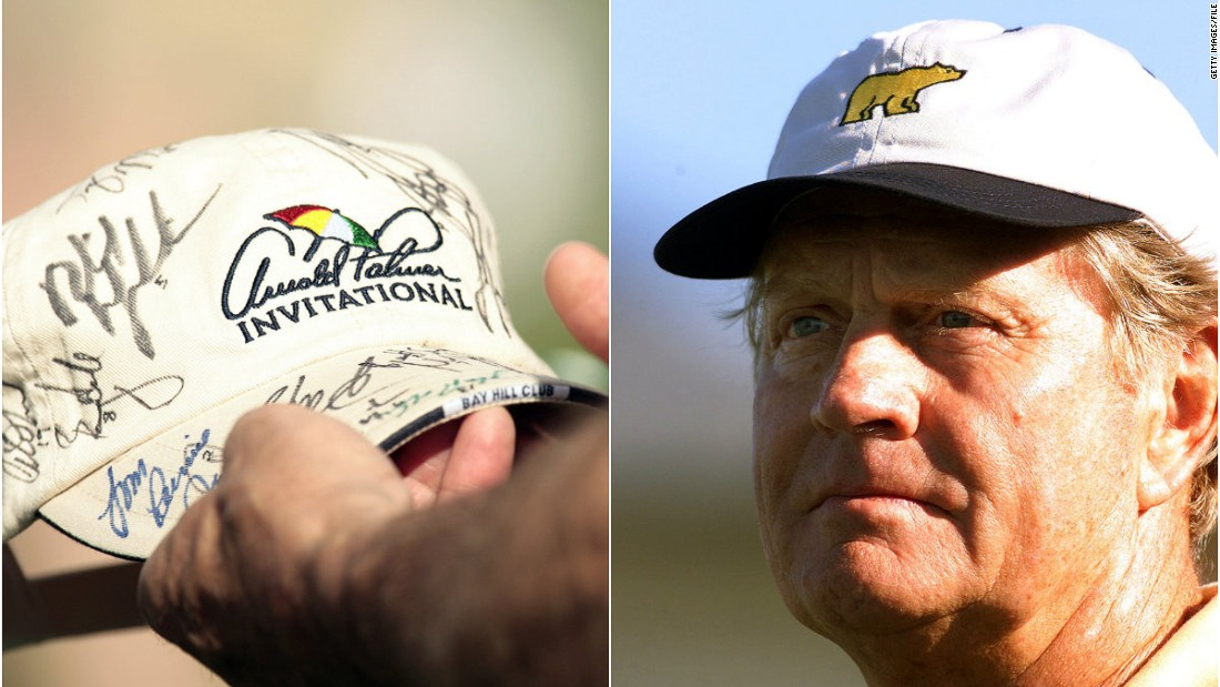 "Both Nicklaus and Palmer built successful clothing brands. Nicklaus' distinctive ""Golden Bear"" logo is known to golfers throughout the world and Palmer, with the help of the sports agent Mark McCormack, <a href=""http://www.arnoldpalmer.com/brands/index.aspx"" target=""_blank"">settled on an umbrella logo</a> for his wares. <br /><br />""People of that era did become more aware of branding and Jack Nicklaus was an early pioneer in that,"" Fleming says."