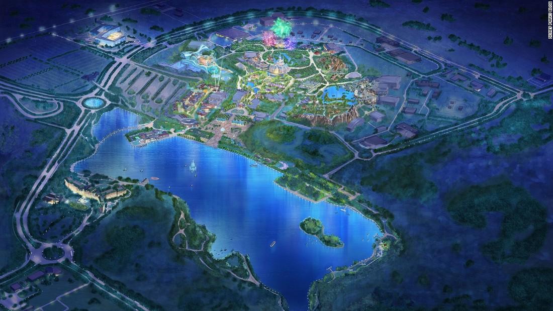 First Look At The New Shanghai Disneyland CNNcom