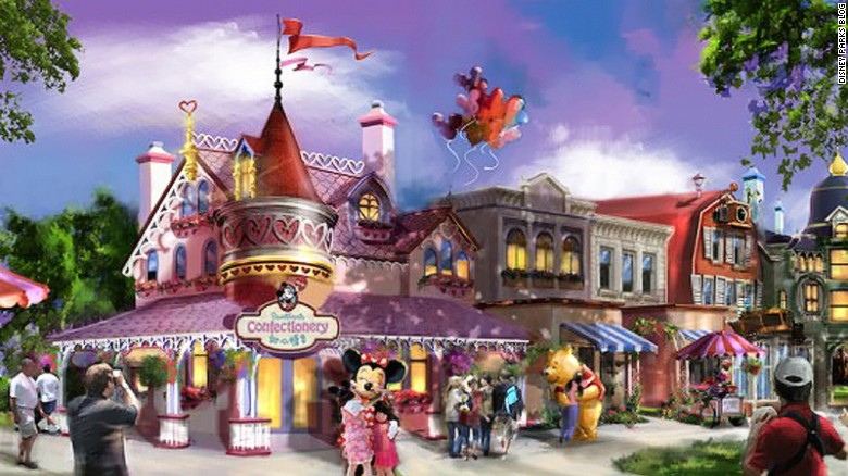 Shanghai Disneyland promises to offer more collectibles and gifts than other Disney theme parks.