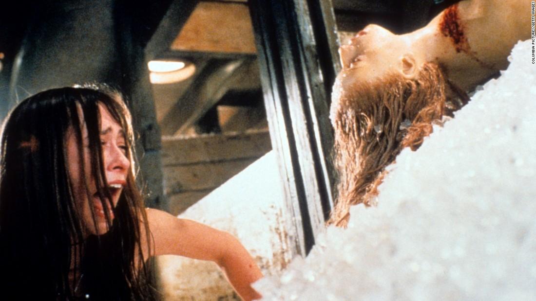 Jennifer love hewitt in hysterics in a scene from the 1998 film quot i