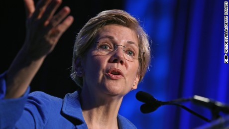 U.S. Sen. Elizabeth Warren (D-MA) addresses the 10th annual Make Progress National Summit at the Walter E. Washington Convention Center July 16, 2015 in Washington, D.C.