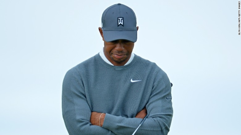 """Tiger Woods revealed he underwent surgery for the third time last month in an attempt to alleviate nerve trouble in his back and has no idea when he will be back in action, saying he """"has nothing to look forward to."""""""