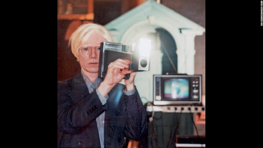 Andy Warhol's Celebrity Polaroids | Warhola | Pinterest ...