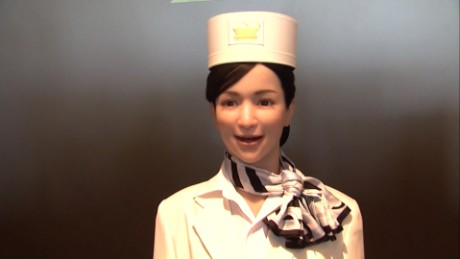 Japan opens world's first robot hotel