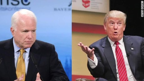 Donald Trump in 2008: I like, respect John McCain