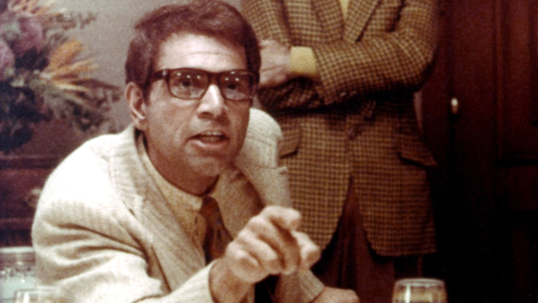 """Alex Rocco playing mobster Moe Greene in """"The Godfather"""""""