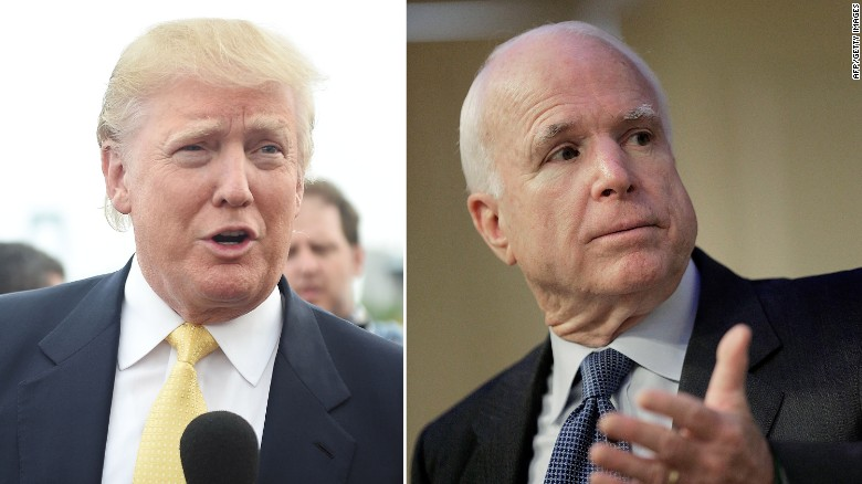 McCain opens up about Trump comments