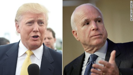 Trump insults McCain, draws scrutiny