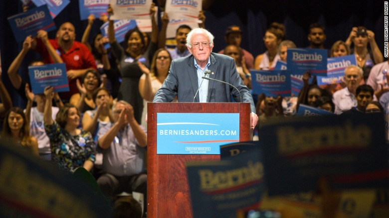 Bernie Sanders: 'I'm not dismissive' of 'Black Lives Matter'