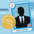 FIFA scandal collector cards Costas Takkas