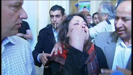 Libyan symbol of freedom now facing years behind bars...