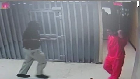 Sandra Bland jail video released