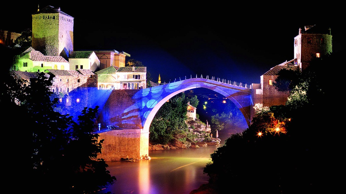 "In July, CNN gave you <a href=""http://edition.cnn.com/2015/07/21/travel/10-reasons-to-visit-bosnia-and-herzegovina/"">10 reasons to visit Bosnia and Herzegovina</a>, including the Stari Most bridge in Mostar, a relic of the Ottoman era."
