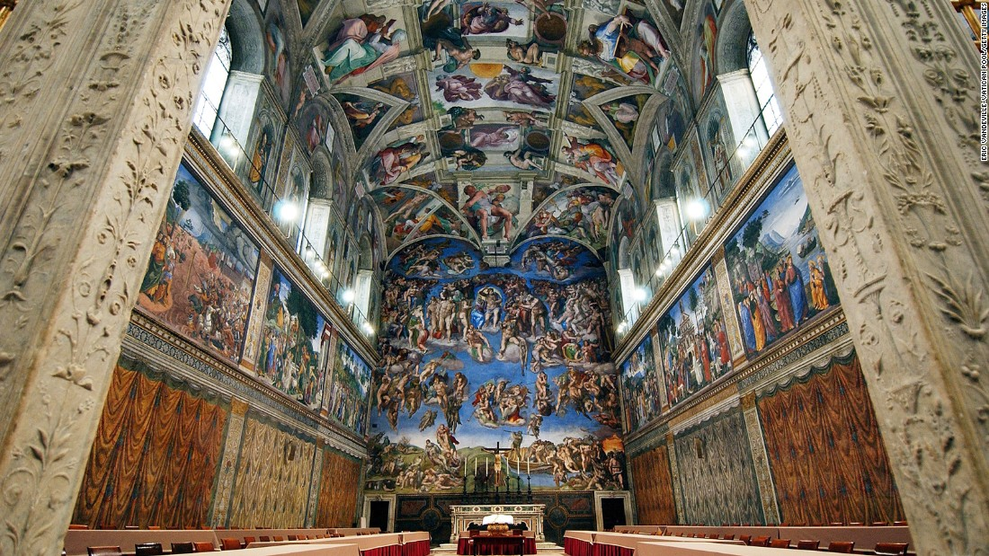 """""""After seeing so many other free churches' beautiful ceillings, I was disappointed with the Sistine Chapel's ceiling."""" -- Chun P., San Diego"""