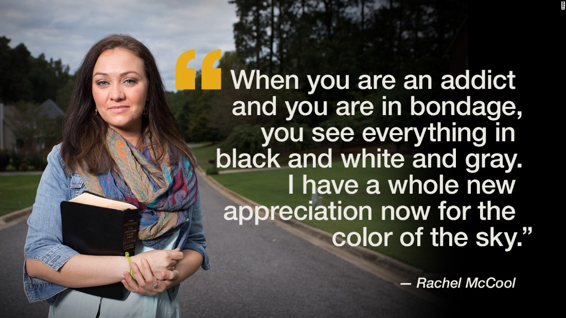Rachel McCool grew up in a small Georgia town. She says she was exposed to pornography as a child and later was prostituted out of a strip club. After going through a rehabilitation program at Wellspring Living, Rachel has a renewed faith in God and an optimism about the future.