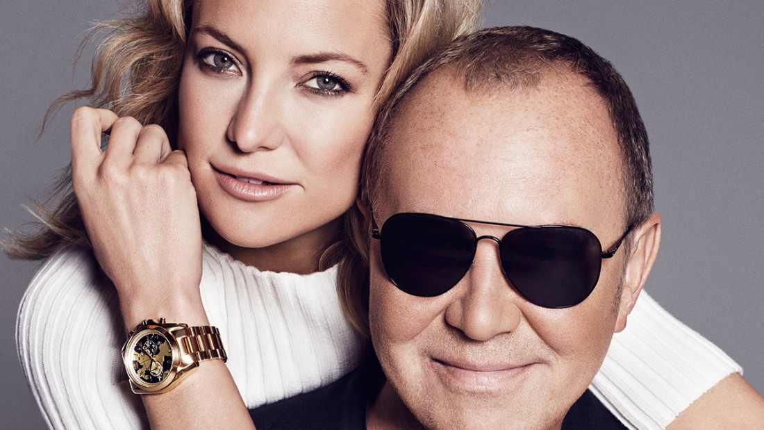 Actress Kate Hudson joins Designer Michael Kors to #WatchHungerStop and raise money for World Food Programme.