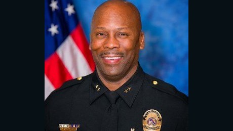 Andre Anderson, an African American, will be announced as the new Ferguson interim police chief at a 9 a.m. CT press conference on Wednesday, July 22, 2015, according to CNN affiliate KMOV.  Anderson was previously a commander with the police department in Glendale, Arizona.