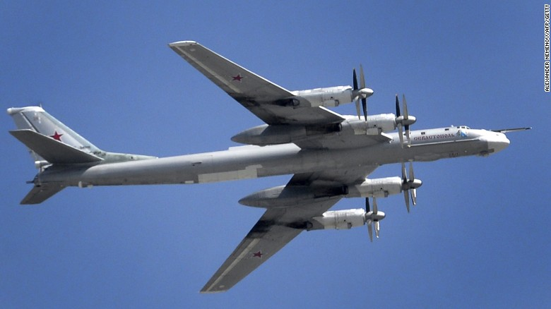 Russian bombers: 'Good morning, American pilots'