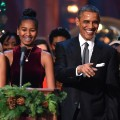 Obama family Christmas 2014 RESTRICTED