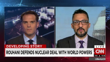 exp Reza Marashi, Research Director, National Iranian American Council, talks to Frederik Pleitgen_00002001