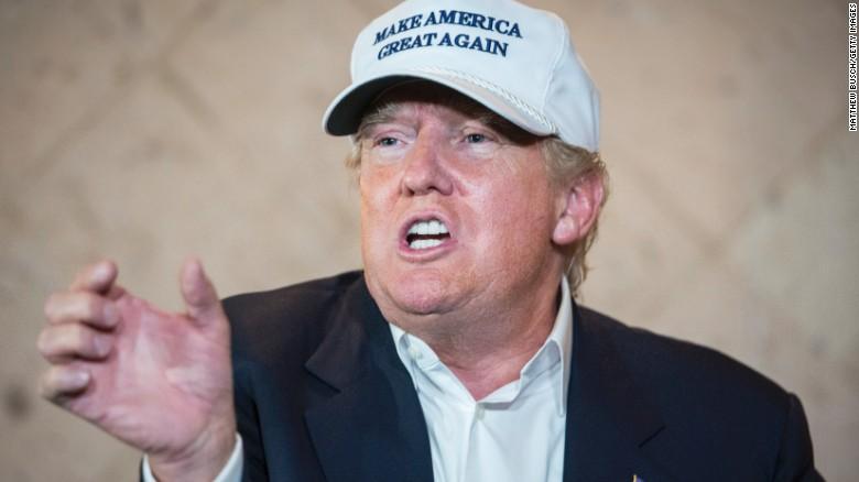 Donald Trump talks border security, Hillary Clinton