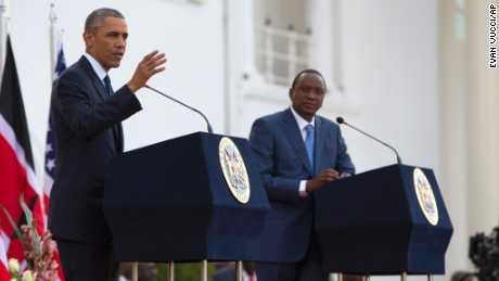 Obama visits Kenya and Ethiopia