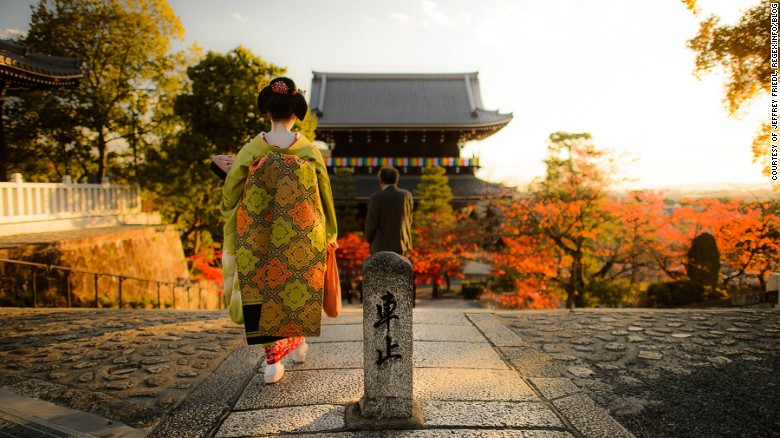 A geisha might cross your path at any time in Japan's ancient capital. But it's not all tradition. Click on for a tour of a vibrant, multi-faceted city that might surprise you.