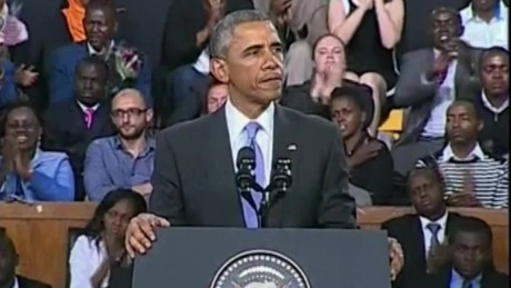Obama delivers powerful speech to the people of Kenya_00012125