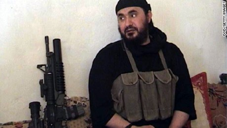 UNDATED:  In this photo from the U.S. Department of Defense (DoD), the al-Qaida leader in Iraq, Abu Musab al-Zarqawi is seen.U.S. warplanes dropped 500-pound bombs on a safehouse June 8, 2006 near Baqouba, Iraq, killing al-Zarqawi, spiritual advisor Sheik Abdul Rahman and six others. (Photo by DOD via Getty Images)