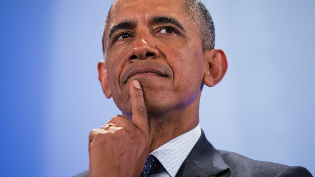 President Barack Obama pauses before delivering a speech at the Global Entrepreneurship Summit at the United Nations Compound, Saturday, July 25, 2015, in Nairobi. Obama's visit to Kenya is focused on trade and economic issues, as well as security and counterterrorism cooperation.  (AP Photo/Evan Vucci)
