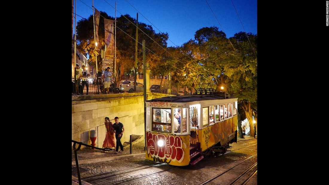 "PORTUGAL: A quaint old tram in the old city of Lisbon. ""Charming, authentic, easy to walk and amazing cuisine -- The country has become quite popular for tourists after the Grexit uncertainties and the Tunisia terror attack."" - CNN's Christian Streib.<br />Follow <a href=""http://instagram.com/christianstreibcnn"" target=""_blank"">@christianstreibcnn</a> and other CNNers on the <a href=""http://instagram.com/cnnscenes"" target=""_blank"">@cnnscenes</a> gallery on Instagram for more images you don't always see on news reports from our teams around the world."