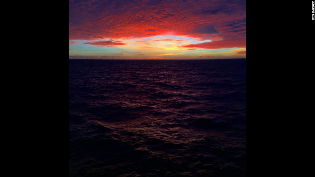 """JAPAN: """"Pacific Ocean Sunset. It's hard to imagine how vast the ocean is until you are in the middle of it."""" - CNN's Brad Olson.<br />Follow <a href=""""http://instagram.com/cnnbrad"""" target=""""_blank"""">@cnnbrad</a> and other CNNers on the <a href=""""http://instagram.com/cnnscenes"""" target=""""_blank"""">@cnnscenes</a> gallery on Instagram for more images you don't always see on news reports from our teams around the world."""