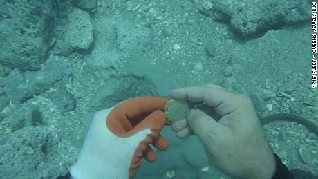 gold coins found florida sot _00004825