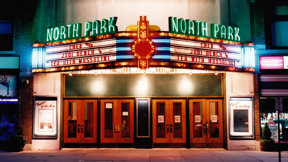 Cinema in New York, photographed by Stefanie Klavens.