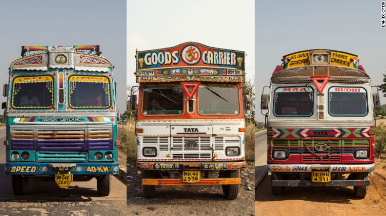 For trucks drivers in India, their vehicle is a home away from home.