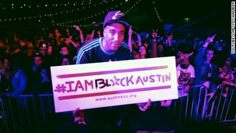i am black austin campaign texas population blackwell pkg_00011524