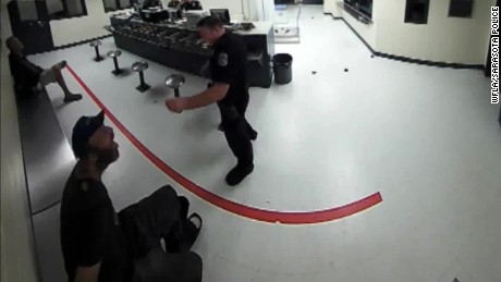 Sarasota cop throws peanuts homeless inmate food_00000623.jpg