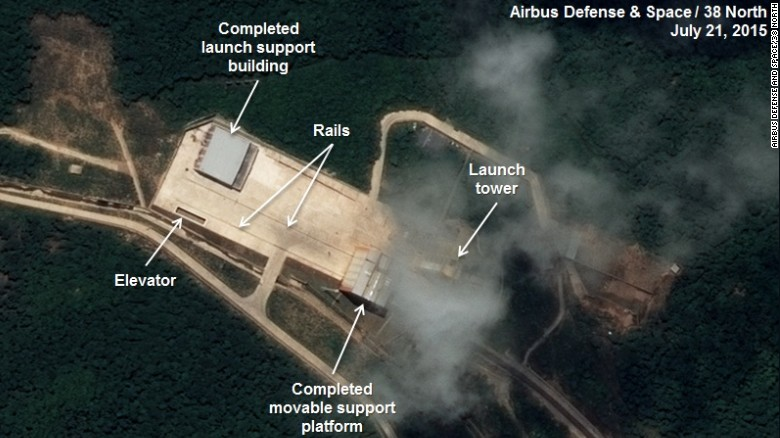 North Korean rocket launch pad upgrade complete, analysts say